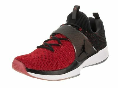 Nike 921210-601 Air Jordan Trainer 2 Flyknit Black Red Men Training Shoes 09bd0ae97