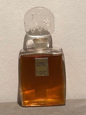 Rare vintage Kypre by Lancome perfume bottle flacon with splendid stopper