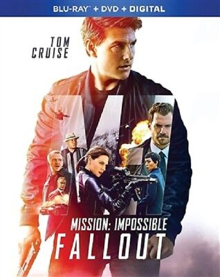Mission: Impossible - Fallout 10/18 (used) Blu-ray Only Disc Please Read
