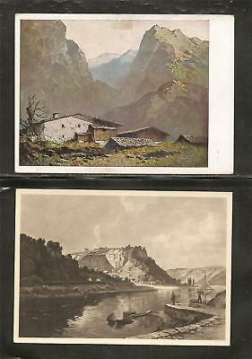 Germany-House of German Art- 1944-5-  48 Photo Post Cards of Naturalistic Scenes