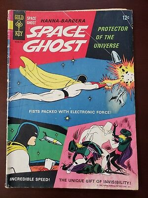 Space Ghost #1 First Appearance Hanna-Barbera Gold Key TV Comic 1966