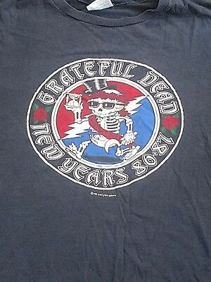 Vintage Original Grateful Dead New Year's Eve 1986-87 large