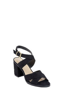 269d59e068a Women s Elegan Open Toe Ankle Strap Chunky High Heels Sandals Size 5.5 - 11  NEW