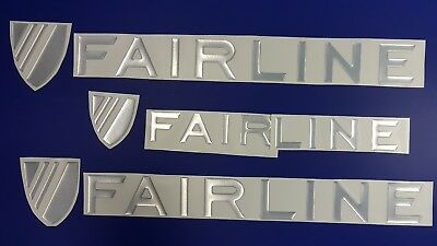 """Fairline Boats Emblem 23"""" Epoxy Stickers Resistant to mechanical shocks"""