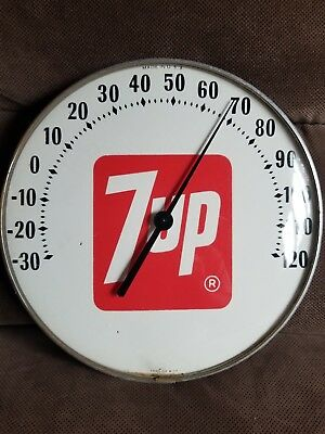 "1970 12"" 7up Thermometer"