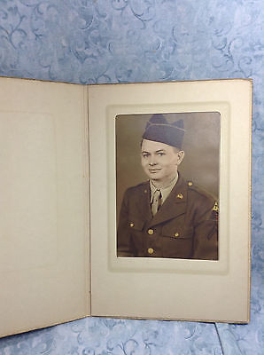 WWII Military Cabinet Photograph