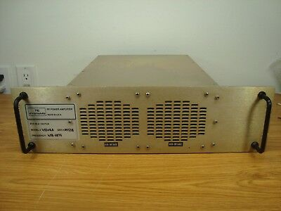 TE SYSTEMS 4550RA UHF 450 MHz REPEATER AMPLIFIER works with KENWOOD MOTOROLA GE