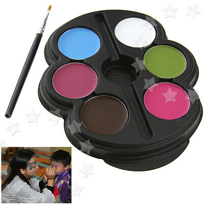 6 Colors Face Paint Body Art Pencils Kids Make Up Set #2