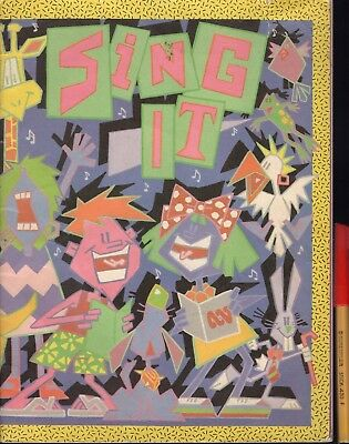 ABC SING IT 80 page 1987 Sheet Music Book 77 GREAT SONGS VGC