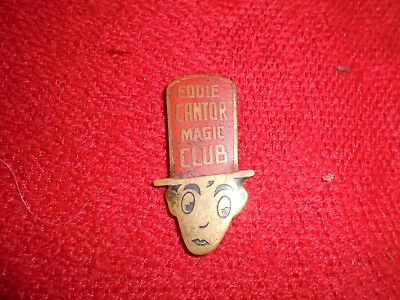 Eddie Cantor Magic Club pin vintage original