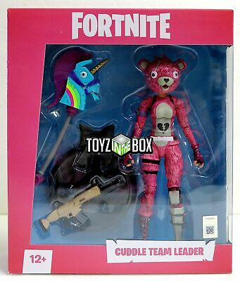 """In STOCK Mcfarlane Toys Fortnite """"Cuddle Team Leader"""" Action Figure"""