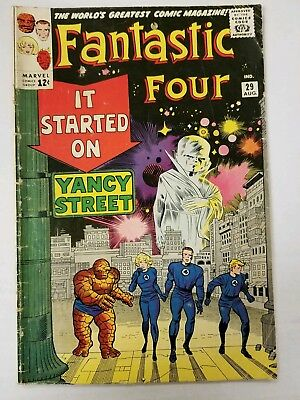Fantastic Four #29, (August 1964) Silver Age, The Watcher Appearance