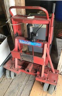 Rol-A-Lift Moving Dollies Heavy Duty Rolalift Dolly Safe M-8 4000 lbs Reciever