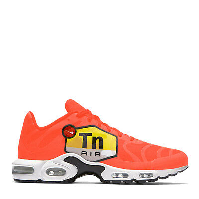 1d809d84cd Nike Air Max Plus GPX TN Tuned 1 Men's Big Logo Orange Black White AJ7181-