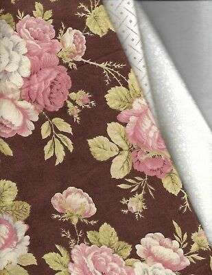 "Country Inn  quilt kit 11 1/2 yards of fabric 82 1/2"" x 98 1/2"" same border fab"