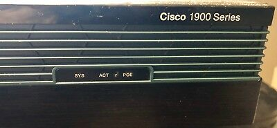 Cisco 1921/K9 Integrated Services Router