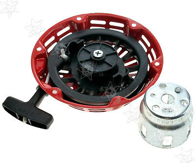 Recoil Pull Starter Assembly Fits Honda GX120 Engine Metal Case Plastic Pawls