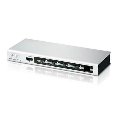Aten VanCryst 4 Port HDMI Video Switch Audio and Infra-Red Remote Control