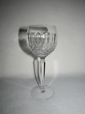 "WATERFORD IRELAND ""COLLEEN"" CRYSTAL SHORT STEM WINE HOCK (s) - MINT"