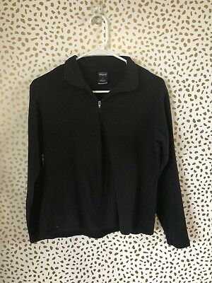 Patagonia Capilene Kids black pullover sweater size M