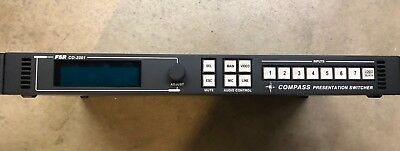 FSR CO-2001 Compass 7x1 Video Presentation Switcher (Scan Converter)with Audio -