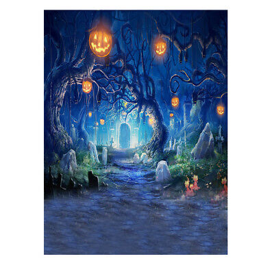Andoer 1.5 * 2m Photography Background Backdrop Digital Printing Hallowmas Z9S5