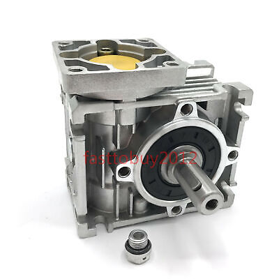 Flange Nema23 Worm Gearbox 20:1 NMRV030 Speed Reducer Reduction fr Stepper Motor