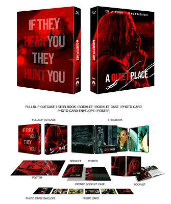 A QUIET PLACE [Blu-ray] 2D (STEELBOOK), Limited 1100, FULL SLIP (C)