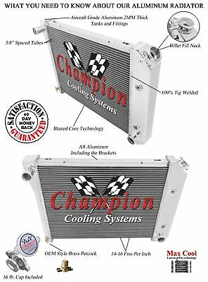 "3 Row Atomic Champion Radiator 20"" Core for 1973 - 1979 Oldsmobile Omega"