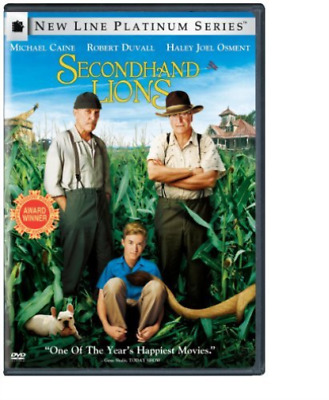 COMEDY-Secondhand Lions (US IMPORT) DVD NEW