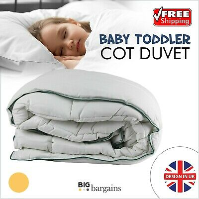 Luxury Toddler Baby Anti-Allergy Comfy Microfibre High Quality Soft Cot Duvet