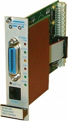 Pickering Interfaces 10-920A-001 GPIB Sys 10 RS-232/IEEE-488.2 Interface