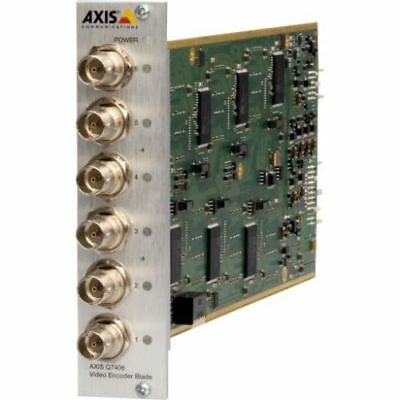 AXIS Q7406 6 Channel IP Video Encoder Blade Server Network for Axis Q7900 Rack