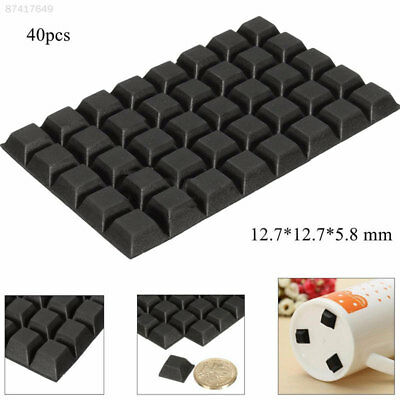 B80B 40pcs Self Adhesive Silicone Feet Bumper Door Cupboard Buffer Pad Non Slip
