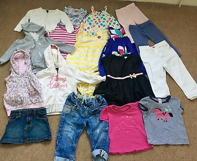 Girls Toddler 18 Piece Joblot bundle 18-24 mths Tommy Hilfiger Gap Next Carters