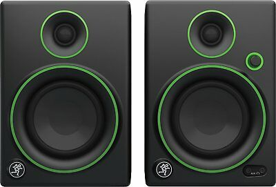 "Mackie CR4 Monitor Multimediali con Woofer da 4"", Nero (Coppia)"