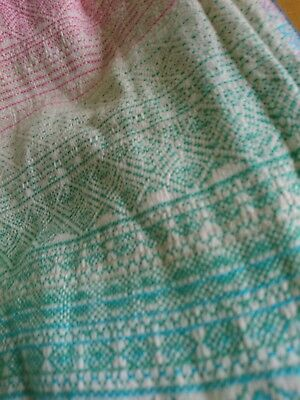 Didymos Woven Baby Wrap Sling Size 4 Indio Borea Barely used.