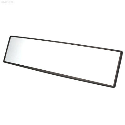 6BA3 300mm Wide Curve Convex Auto Car Interior Clip On Panoramic Rear View
