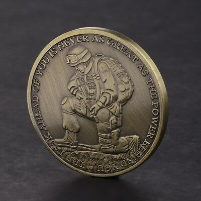 Commemorative Coin Ephesians Positive Words Strong Collection Arts Gift Souvenir