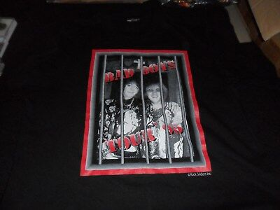 Kiss Ace Frehley/ Peter Criss Bad Boys Tour T-Shirt !! Excellant Condition !!