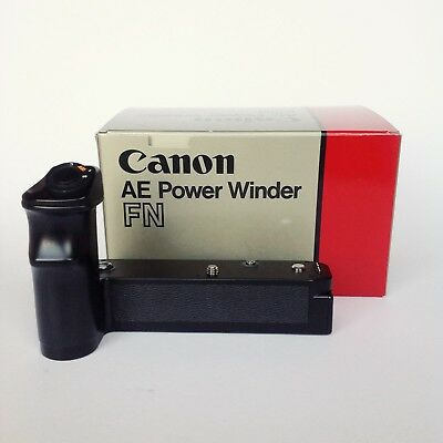 Canon AE Power Winder FN compatible with Canon New F-1 Camera