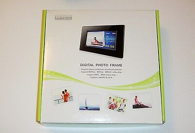 Digital Photo Frame 7 inch With Remote Black PF 7210 Brand New