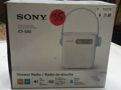 sony am fm radio in box, barely used.