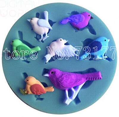 Inception Pro Infinite Silicone Mold With imprint Of Different Birds Sparrow