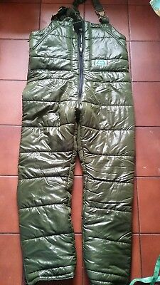 British Army Mountain Equipment Salopettes Vintage Cold Weather Trousers XL