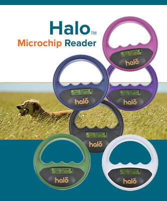 Microchip Pet Scanner ISO Chip Halo Scanner  Microchip Reader  Pet Travel Scheme