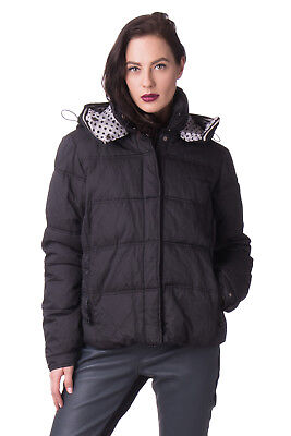 AMY GEE Puffer Jacket Size 44 / M Detachable Hood Designed in Italy RRP €170
