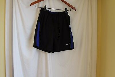 Nike dri fit youth small running shorts black