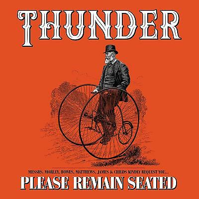 Thunder - Please Remain Seated DELUXE 2 CD ALBUM NEW (18TH JAN)