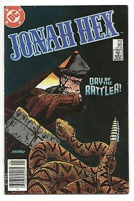 Jonah Hex #80 VG/FN  1984 (1st Series)    *Free Shipping*